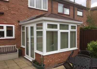Conservatory Project Completed