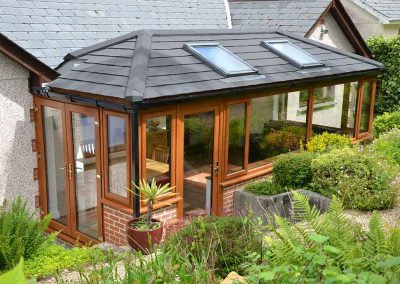 Double Hipped Conservatory
