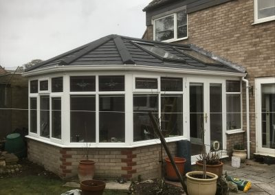 Exterior conservatory